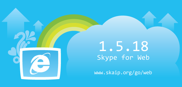 Skype 1.5.18 for Web