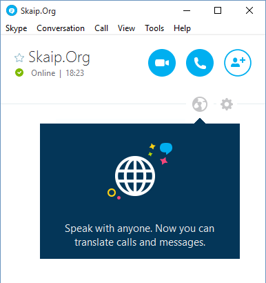 Speak with anyone. Now you can translate calls and messages.