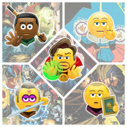 Skype adds new emoticons for Doctor Strange heroes