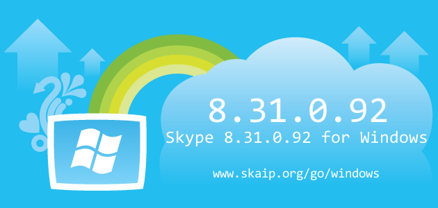 Skype 8.31.0.92 for Windows